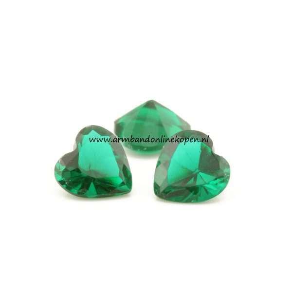 my lucky charm hartjes steen groen