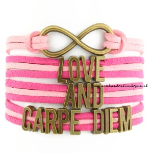 Always Love and Carpe Diem armband