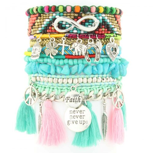 Ibiza Armband The Magic of Faith pastel