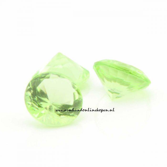 my lucky charm steen licht groen
