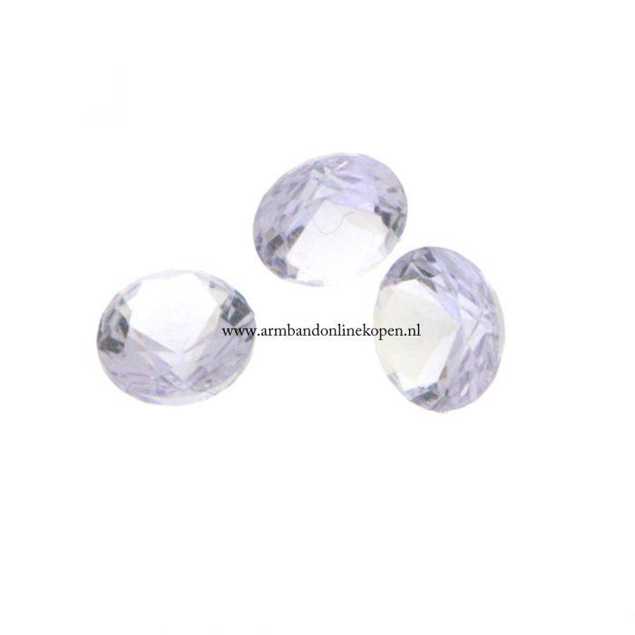 steen voor munt hanger lavendel