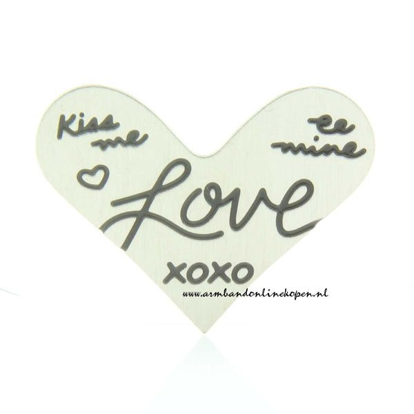munt hart hanger XOXO my lucky charm
