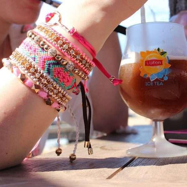 festival armbandjes geknoopte kralen armbandjes