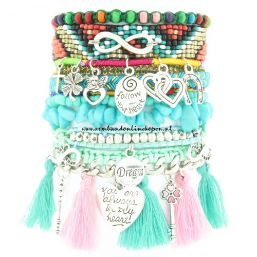 ibiza armband always in my heart