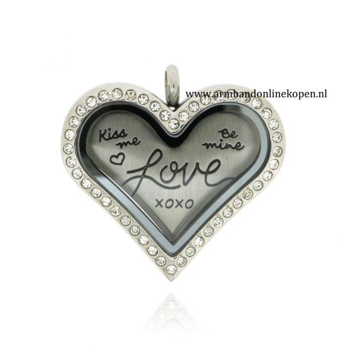 munt hanger heart gratis munt love kiss me be mine