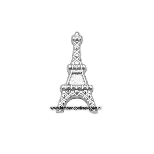 Eiffeltoren Bedel voor munt hanger of armband