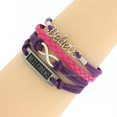 believe always in your best friend armband