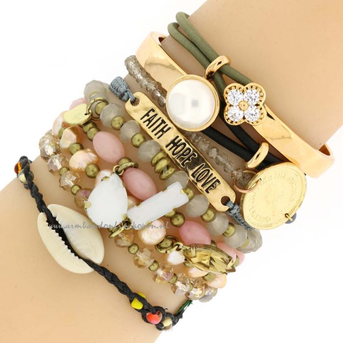 faith hope love armcandy armbandjes
