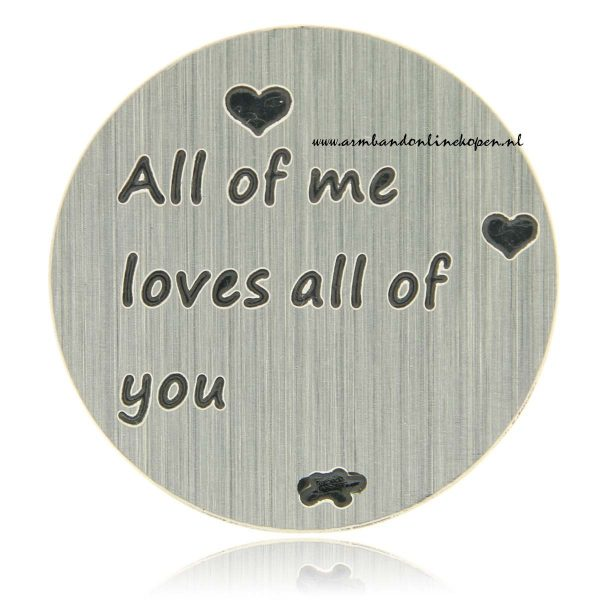 hanger munt all of me loves all of you