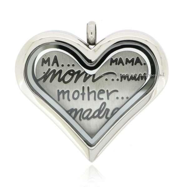 munt hanger met mother munt