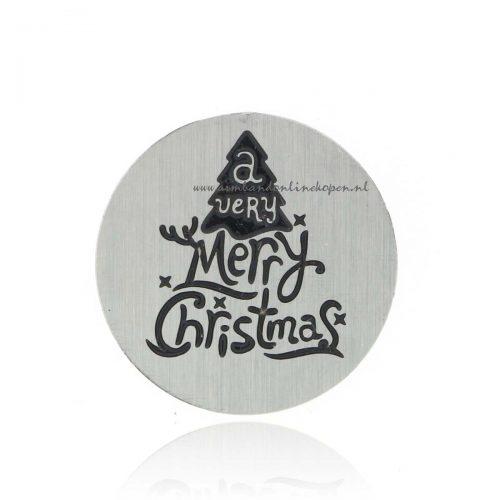 munt a very merry christmas voor munt hanger
