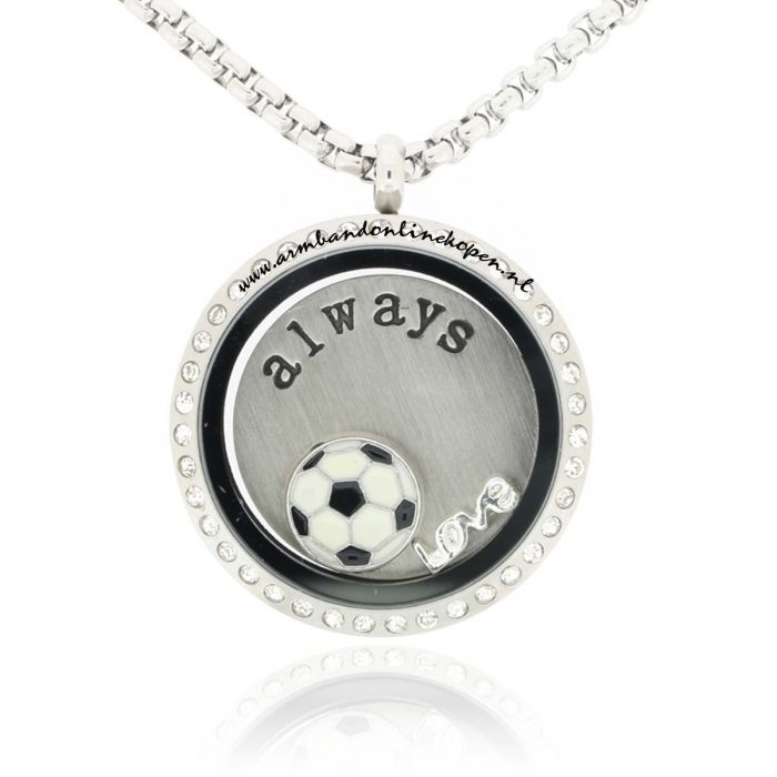 munt ketting love football