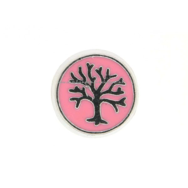 my lucky charm bedel levensboom zilver roze