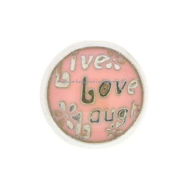 my lucky charm bedel live love laugh roze tinten