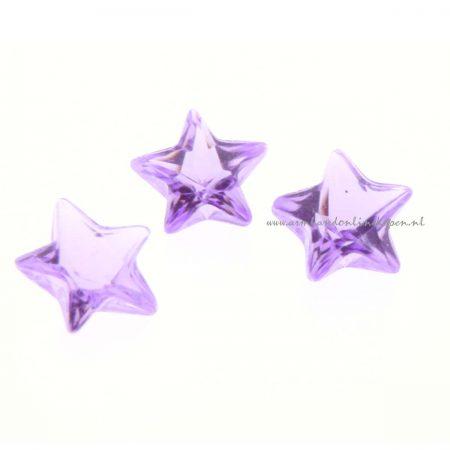 ster steen licht paars