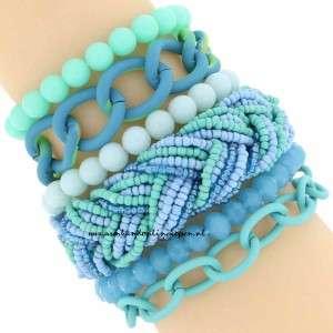 statement armband mint