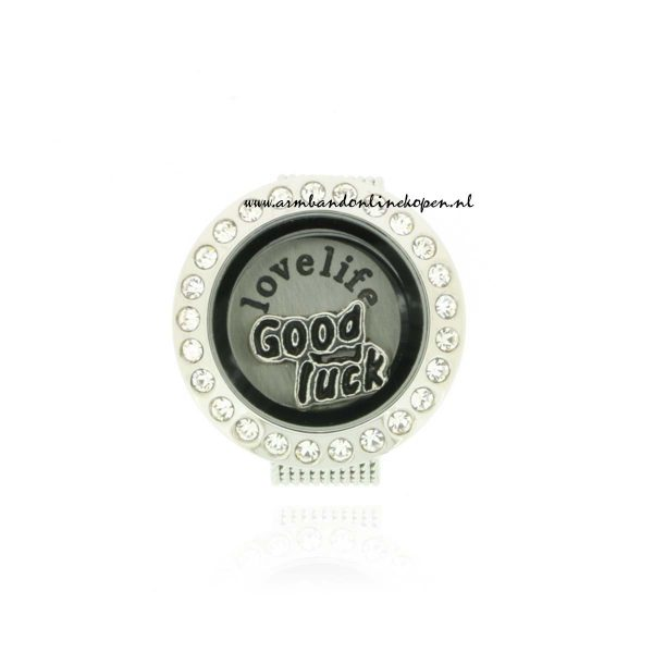 Munt Ring Love Life My Lucky Charm Collectie