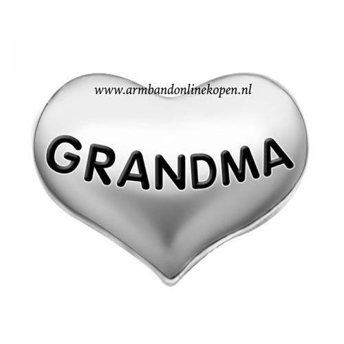 love my grandma bedel zilver my lucky charm collectie