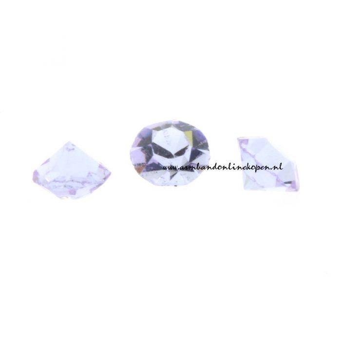 my lucky charm steen licht paars