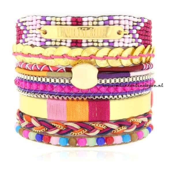Ibiza Armband La Vie est Belle