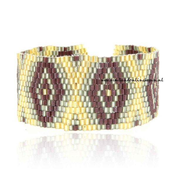 hippe japanse armband met miyuki kralen