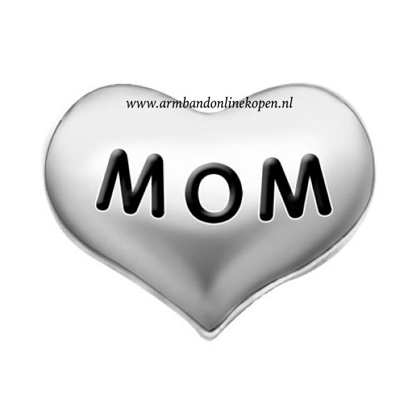 love my mom bedel zilver my lucky charm collectie