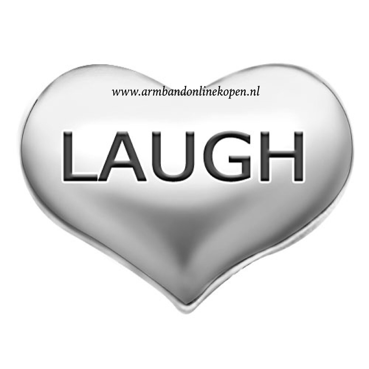 love to laugh bedel zilver my lucky charm collectie