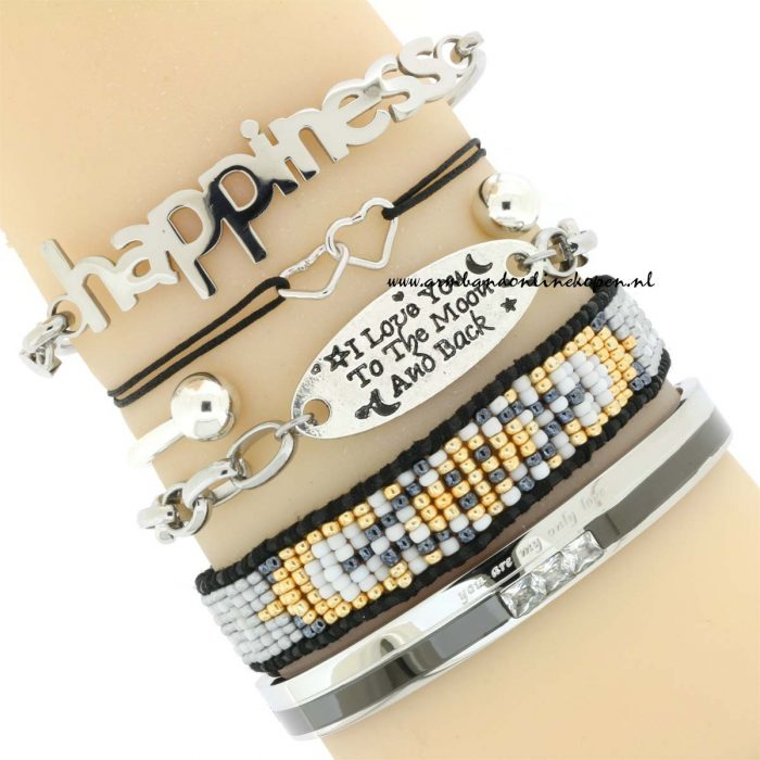 quote armband You are my only Love armcandy