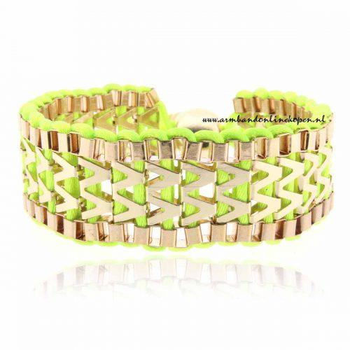 vriendschapsarmbandjes viva victoria neon groen