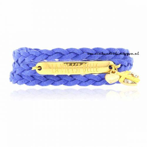 Wrap Armband La vie est Belle