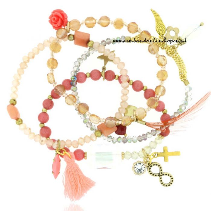 Armbandjes Set Parisian Affair