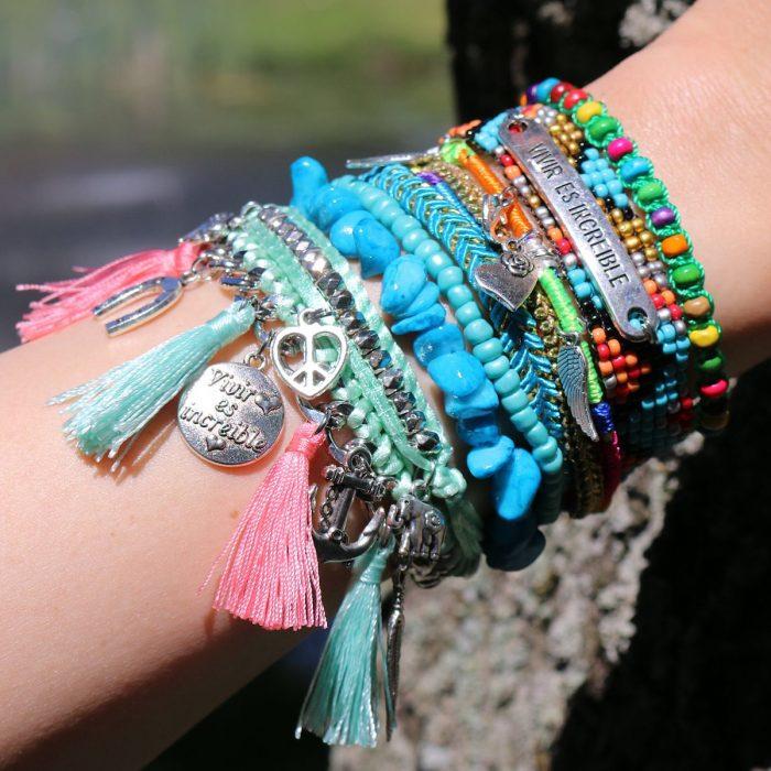 Exclusieve Ibiza Armbanden Vivir es Increible
