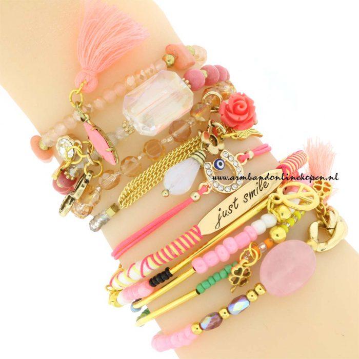 armbanden setjes hoefijzer armbandje