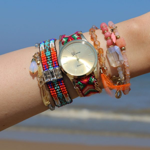 armbandjes set bohemian look 2015