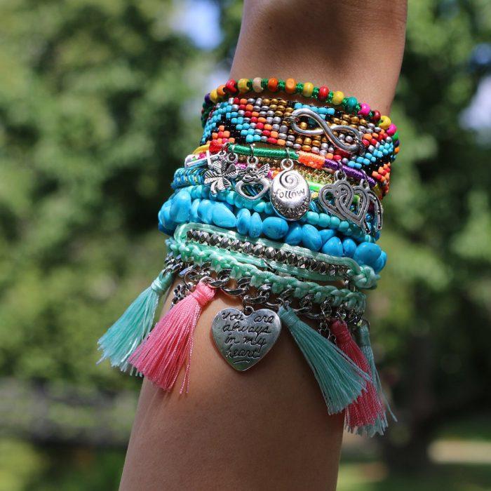 boho ibiza armbandjes magneetsluiting