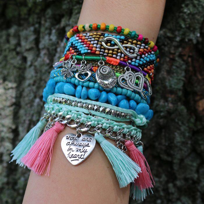 hippe ibiza armbandjes boho stijl