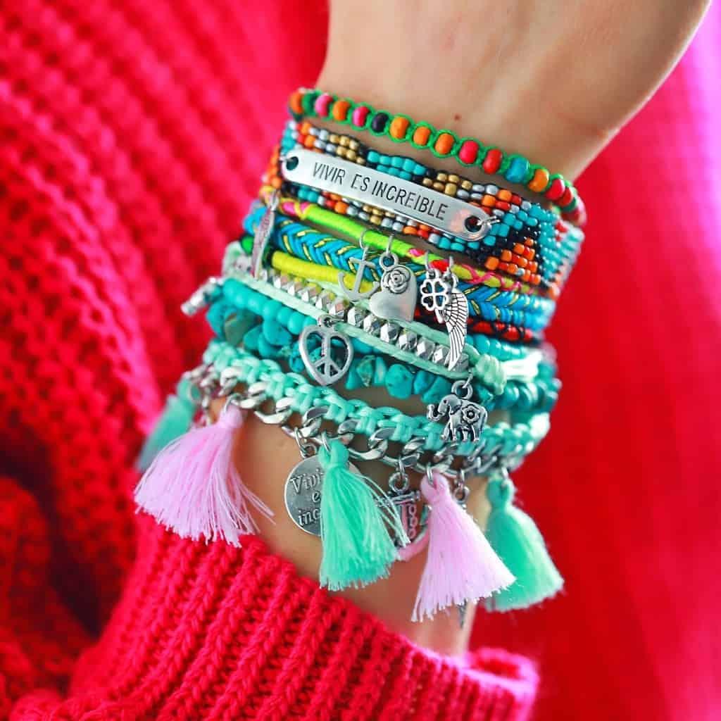 ibiza armband spaanse slogan boho armparty