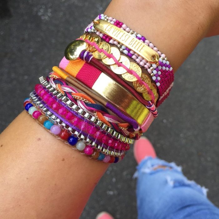 quote ibiza armbanden la vie est belle goud