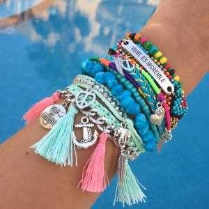 vivir es increible hippe ibiza armbanden