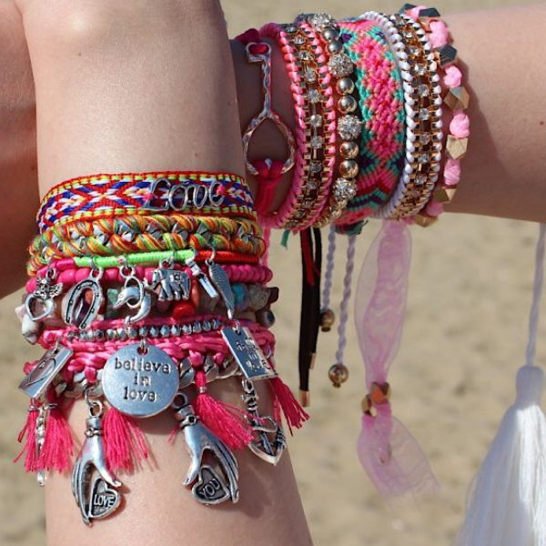 Hippe Ibiza Armband Falling in Love with You