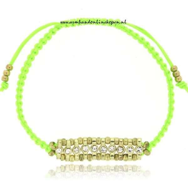 neon armbandjes met kraaltjes