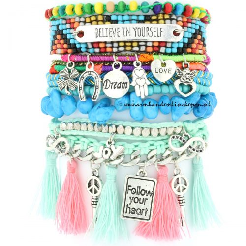 Ibiza Armband Believe Always in Yourself