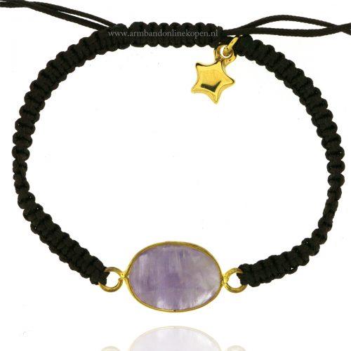 armband-steen-amethyst-goud