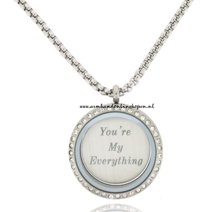 Munt Ketting You are my Everything