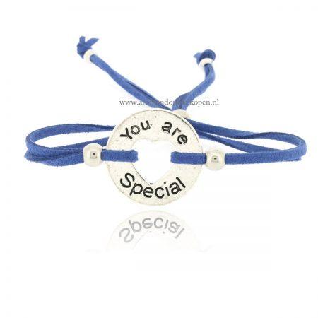 You Are Special Armbandje Blue Jeans