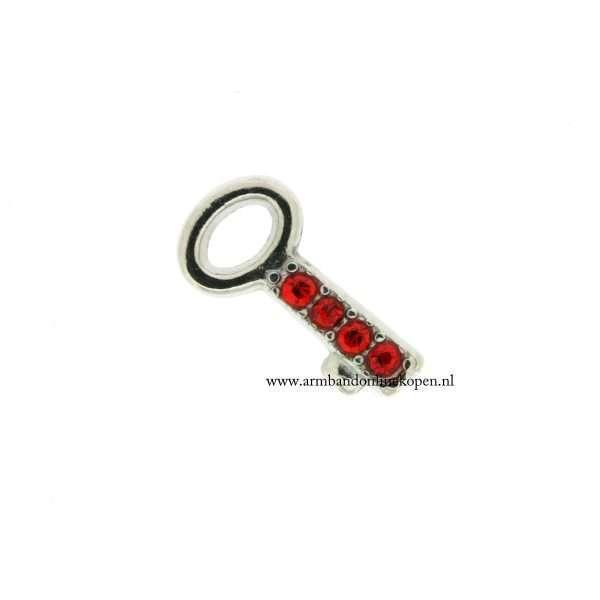 bedel munt hanger of armband sleutel