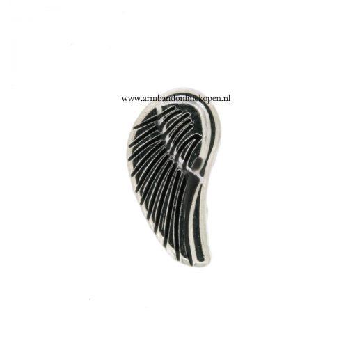 engelvleugel bedel munt hanger of armband
