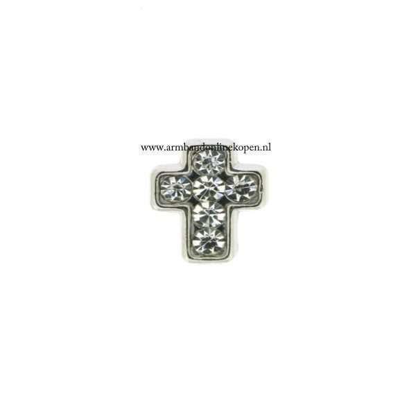 kruis bedel munt hanger of armband