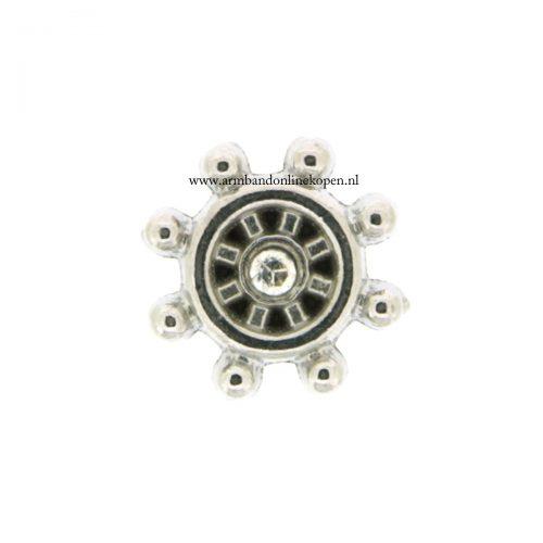 roer stuurwiel bedel voor munt hanger of armband