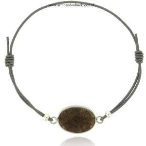armband elastiek grijs zilver